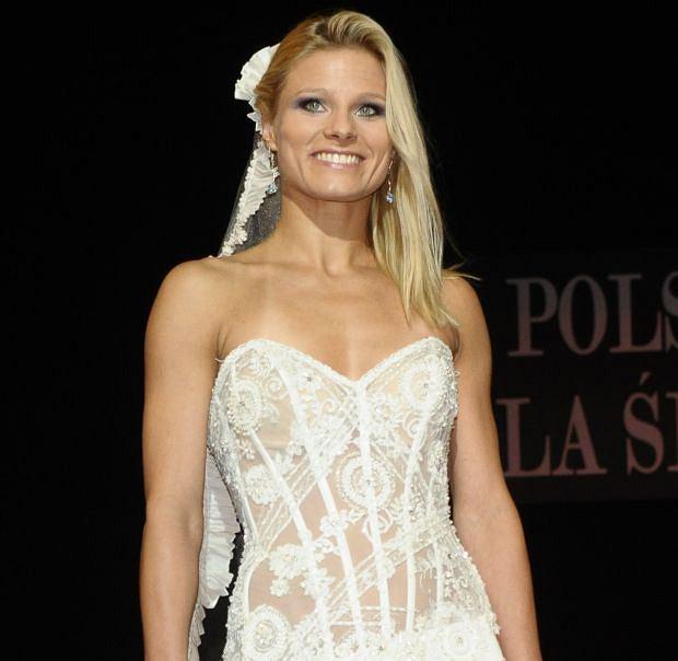 Anna Głogowska, pokaz mody, suknie ślubne