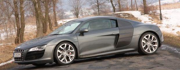 Audi R8 V10 - Test w Bieszczadach