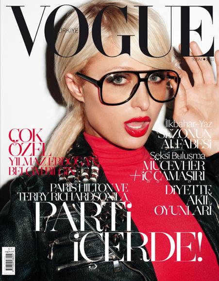 Paris Hilton na okładce tureckiego Vogue, Dziedziczka na okładce Vogue Turkiye