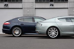 Porsche Panamera Turbo vs. Aston Martin Rapide