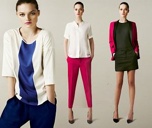 Zara, lookbook, marzec 2011