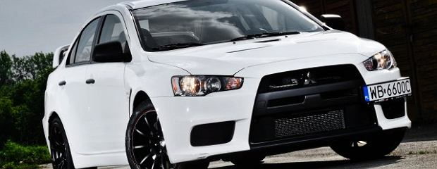 Lancer Evolution RS wraca nad Wisłę