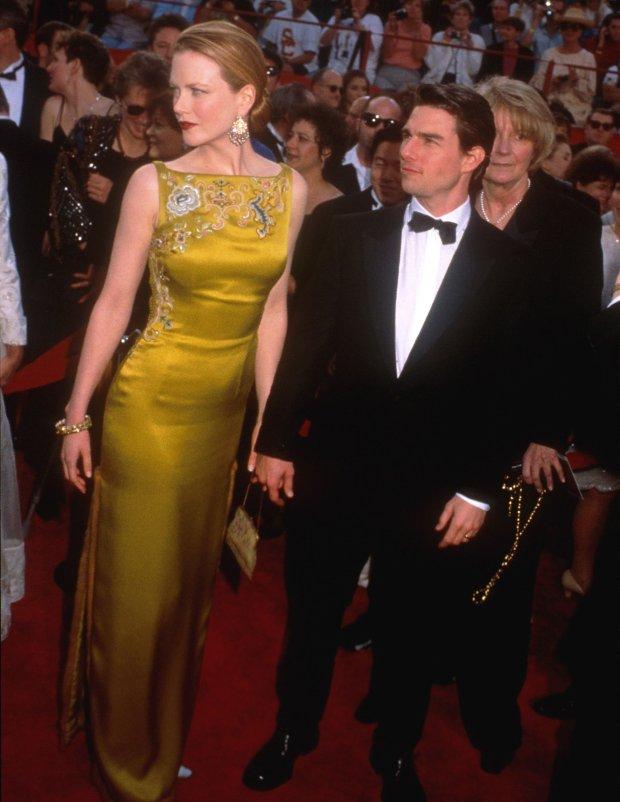 Nicole Kidman i Tom Cruise na Oscarach w 1997 roku