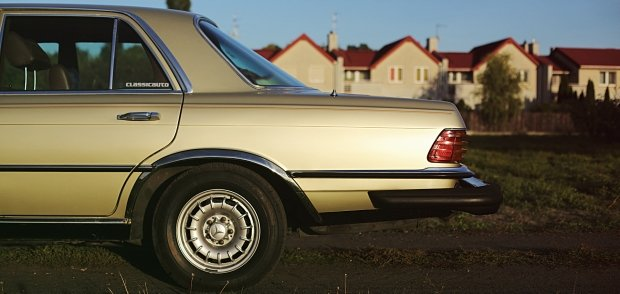 Mercedes W116 300 SD Turbo Diesel