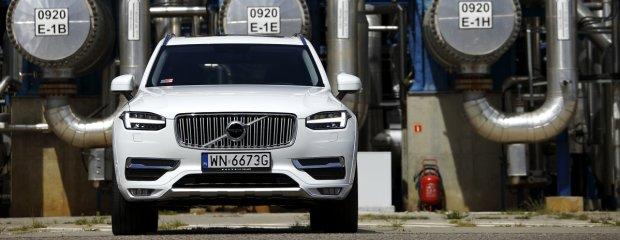 2015 Volvo XC90 - rafineria Lotos w Gdańsku