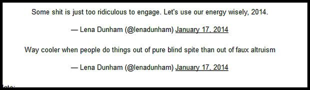 Cyt. z twittera Leny Dunham