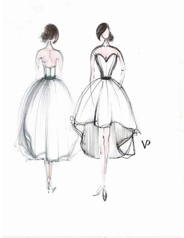 Projekt sukni Agnieszki Szczurek - Viola Piekut