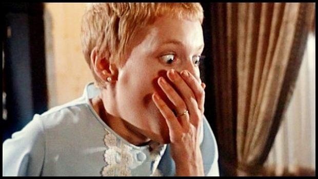 Kadr z filmu Dziecko Rosemary
