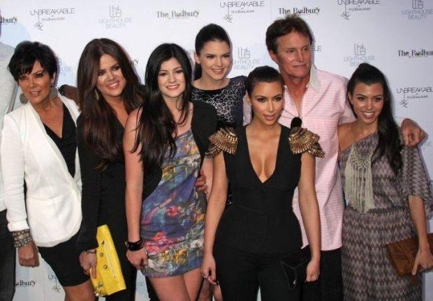 Bruce Jenner z rodziną