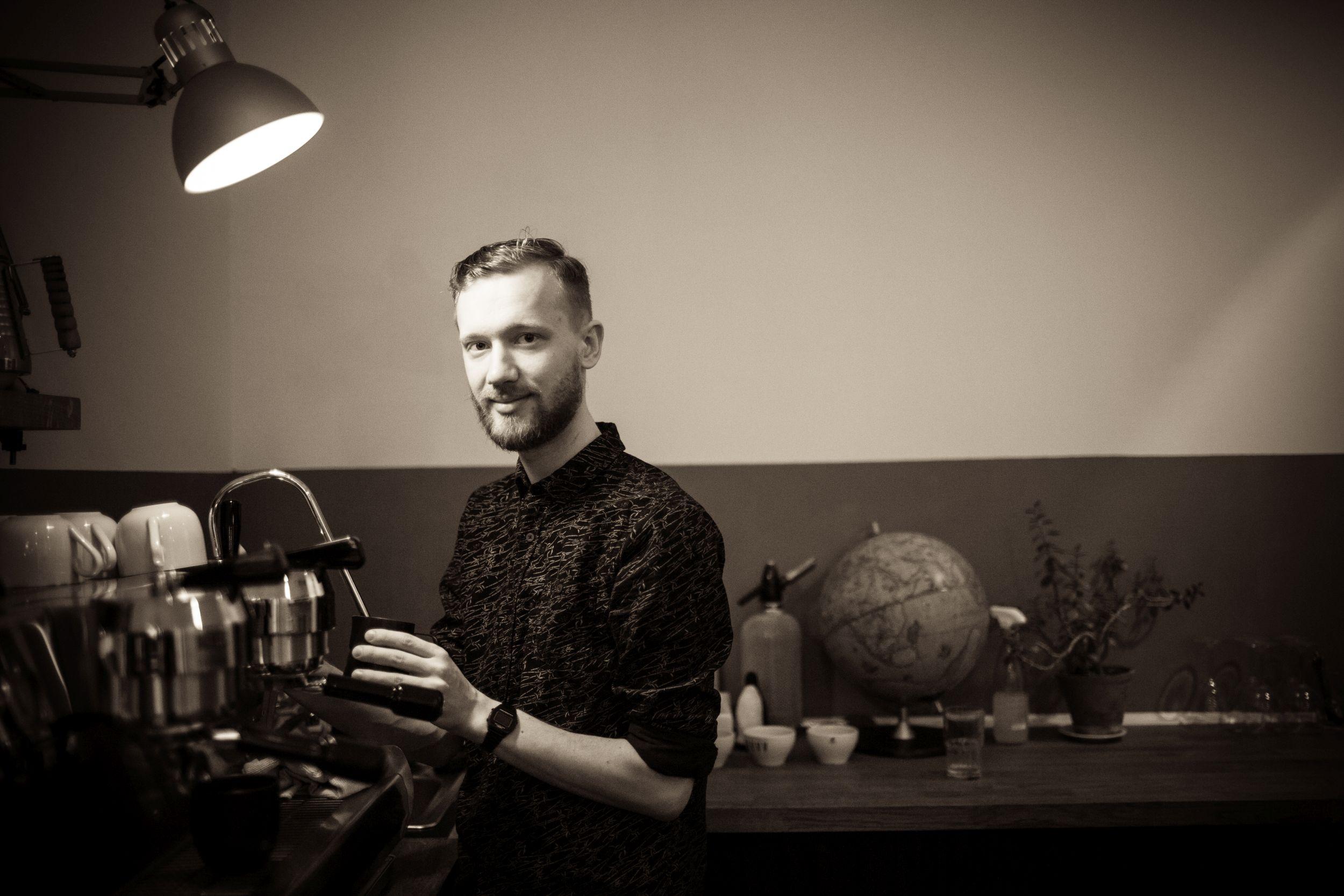 Sławomir Saran (fot. Albert Zawada / Agencja Gazeta)