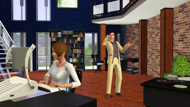 The Sims 3 - kadr z gry