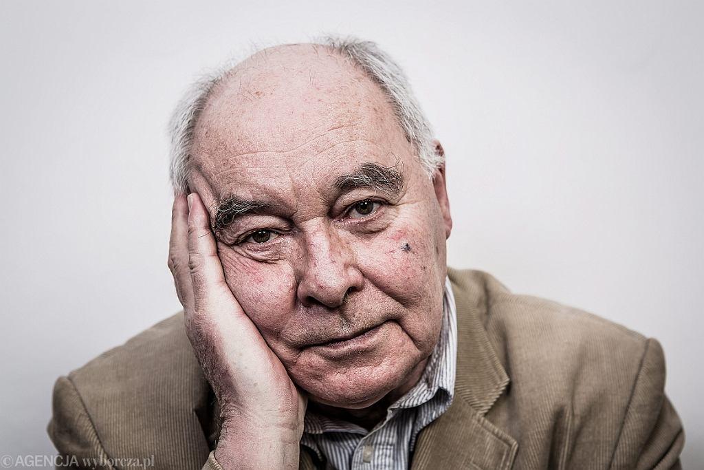 Prof. Marcin Król (fot. Albert Zawada/AG)