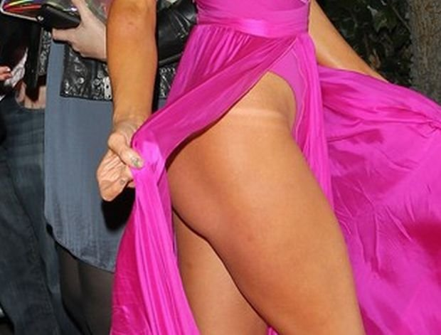 Paris Hilton's birthday bash at West Hollywood's Greystone Manor. Paris was wearing a very revealing dress  Pictured: Paris Hilton
