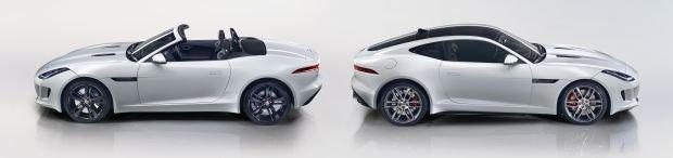 Jaguar F-Type Roadster i Coupe