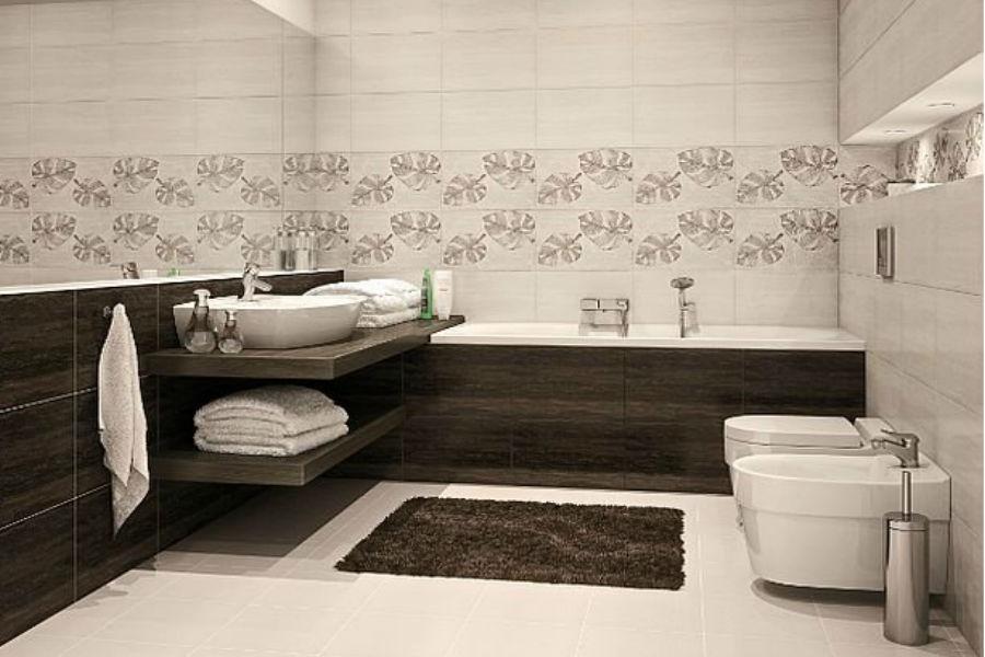 Nowoczesna łazienka dla singla