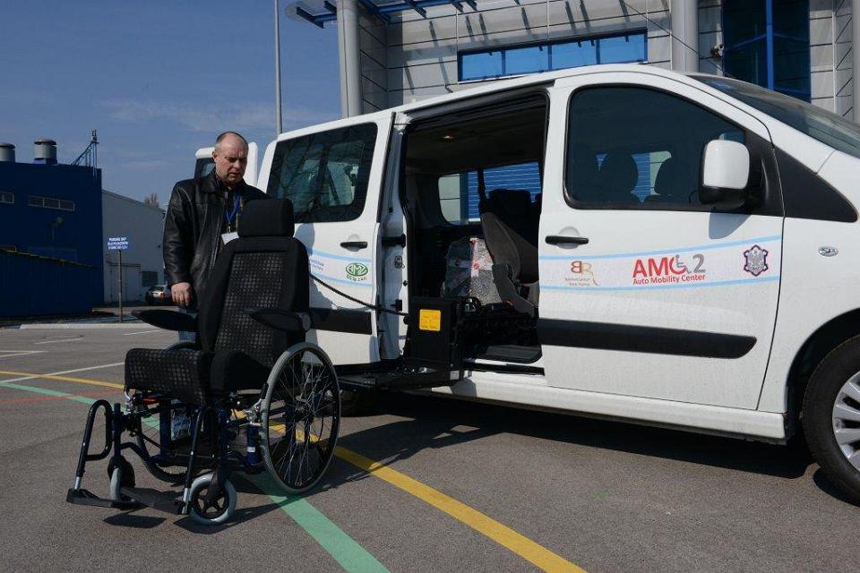 Chwalebne Można testować auta przystosowane dla osób niepełnosprawnych MQ67