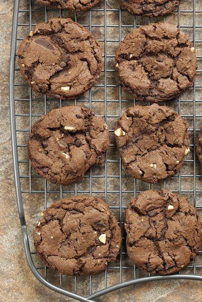Dietetyczne ciasteczka na święta czekoladowe