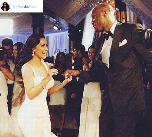 Kim Kardashian i Lamar Odom