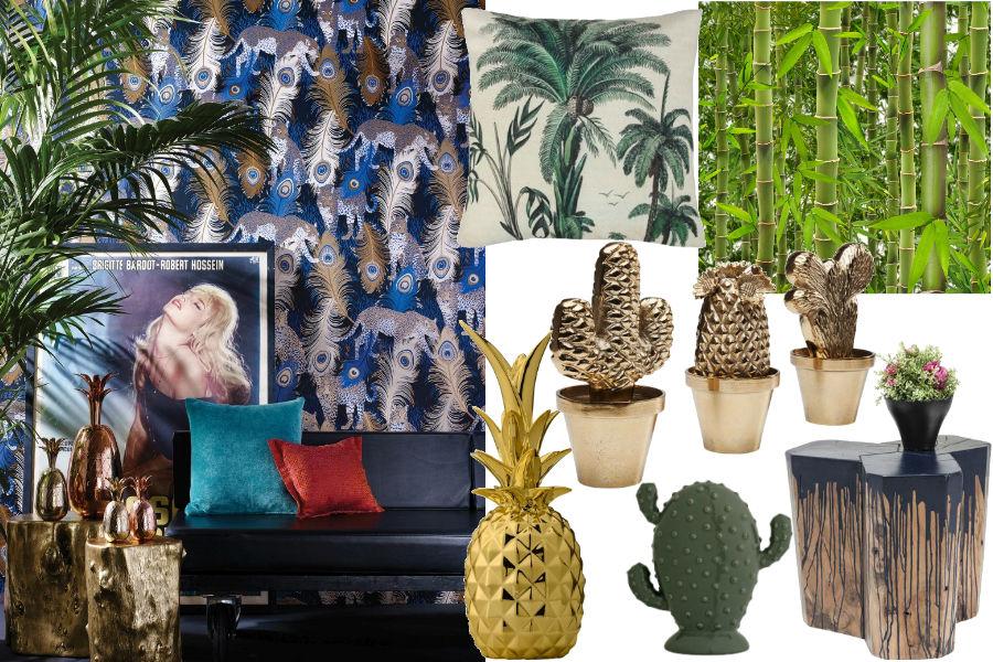 Modny trend: tropikalny klimat we wnętrzach
