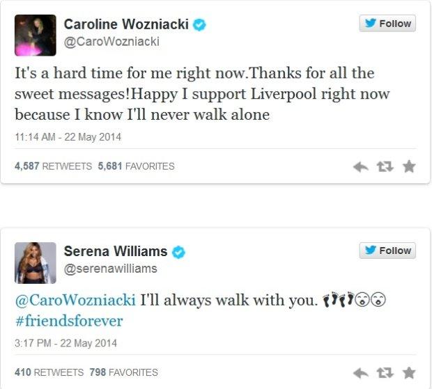 Tweet Sereny Williams