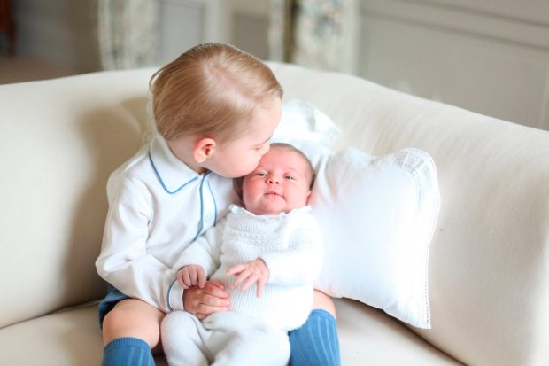 Prince George and Princess Charlotte are seen in this undated handout photo taken by the Duchess in mid-May at Anmer Hall in Norfolk and released by the Duke and Duchess of Cambridge on June 6, 2015.  REUTERS/Duchess of Cambridge/Handout via Reuters   ATTENTION EDITORS - FOR EDITORIAL USE ONLY. NOT FOR SALE FOR MARKETING OR ADVERTISING CAMPAIGNS. THIS IMAGE HAS BEEN SUPPLIED BY A THIRD PARTY. IT IS DISTRIBUTED, EXACTLY AS RECEIVED BY REUTERS, AS A SERVICE TO CLIENTS. NO COMMERCIAL USE.      TPX IMAGES OF THE DAY