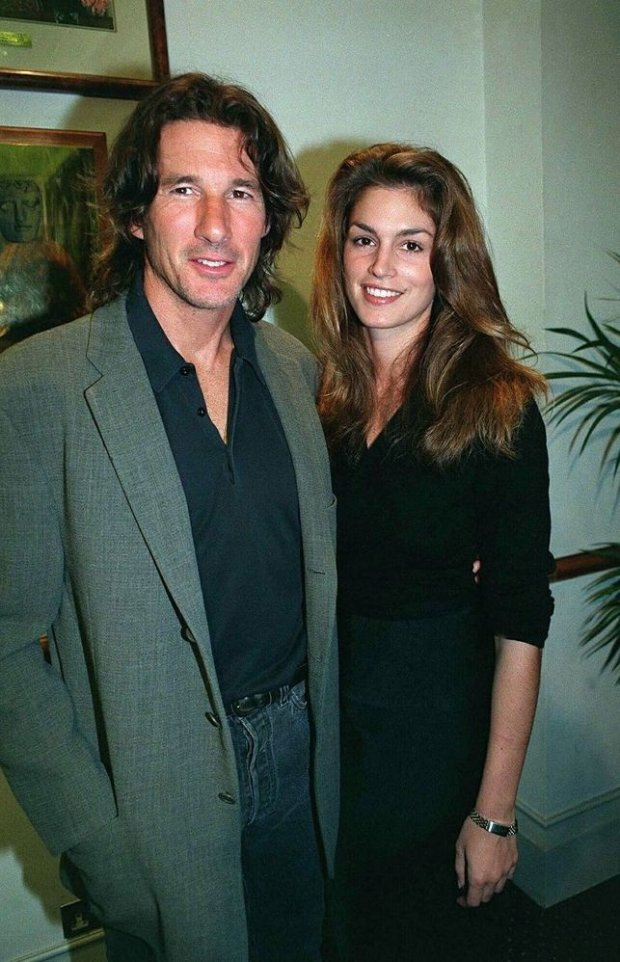Richard Gere, Cindy Crawford