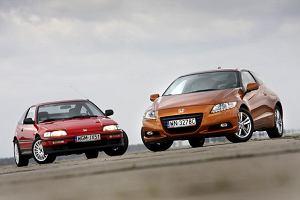 Honda CRX vs Honda CR-Z