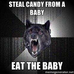 Insane Wolf