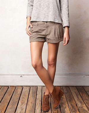szorty, spodnie, krótkie spodenki, zima 2011-2012