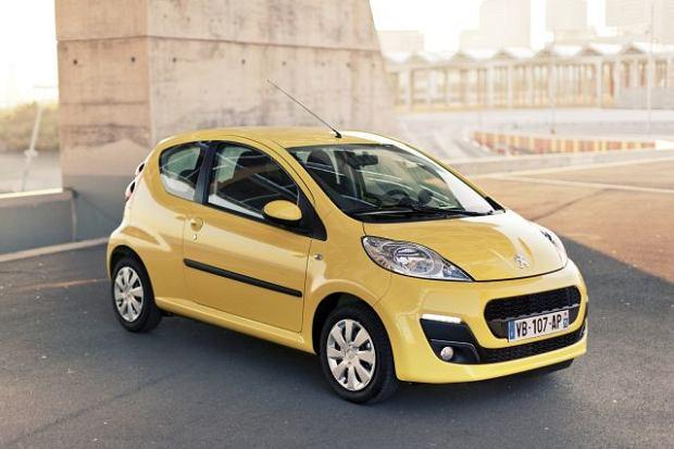 Modernistyczne Peugeot 107 | Ceny ES25