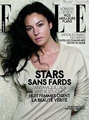 Okładka kwietniowego numeru francuskiego Elle (Źródło: www.stylefrizz.com)