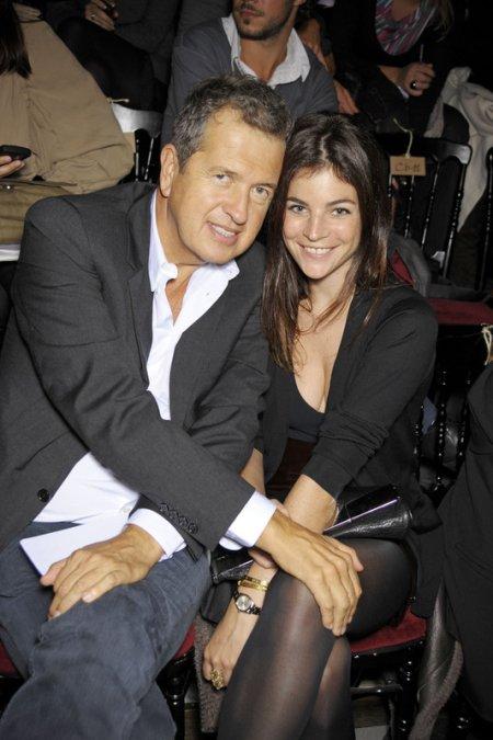 Mario Testino i Julia Restoin-Roitfeld (Fot. EAST NEWS)