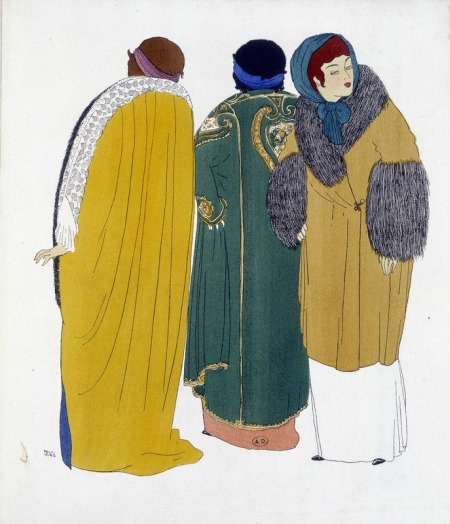 reation de Paul Poiret tiree de