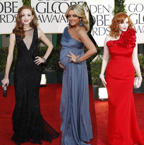 68. ceremonia wręczenia Złotych Globów, Złote Globy 2011, gwiazdy