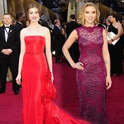 Najgorzej ubrane na gali Oscary 2011
