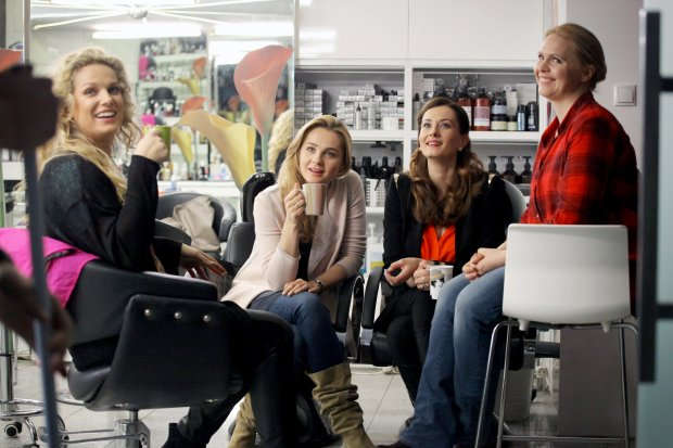 Małgorzata Socha, Joanna Liszowska, Anita Sokołowska, Magdalena Stużyńska-Brauer, Przyjaciółki