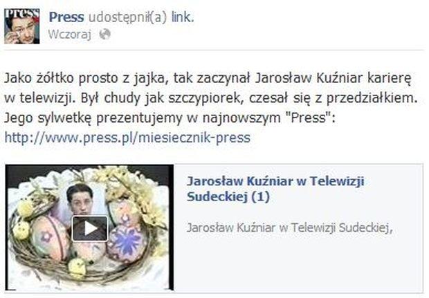 Press, Jarosław Kuźniar