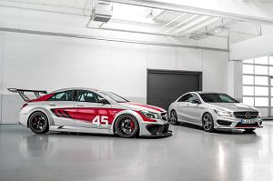 Salon Frankfurt 2013 | Mercedes CLA 250 Sport i CLA 45 AMG Racing Series