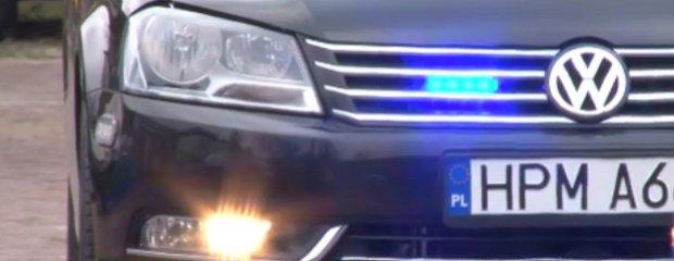 Nieoznakowane VW Passaty dla policji