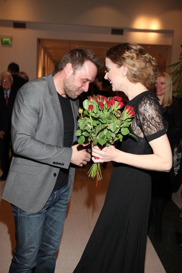 Halina Mlynkova i Łukasz Nowicki