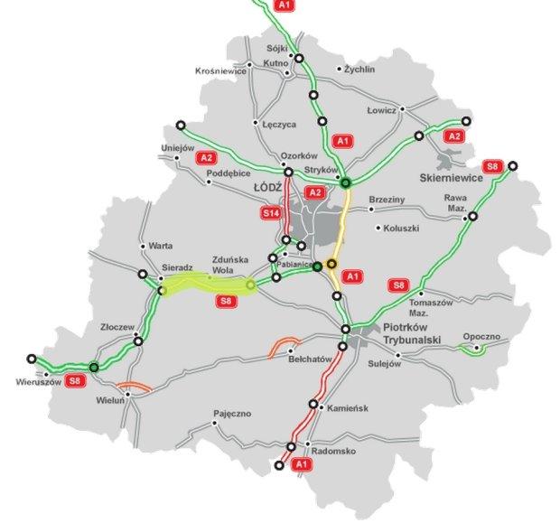 mapa s8