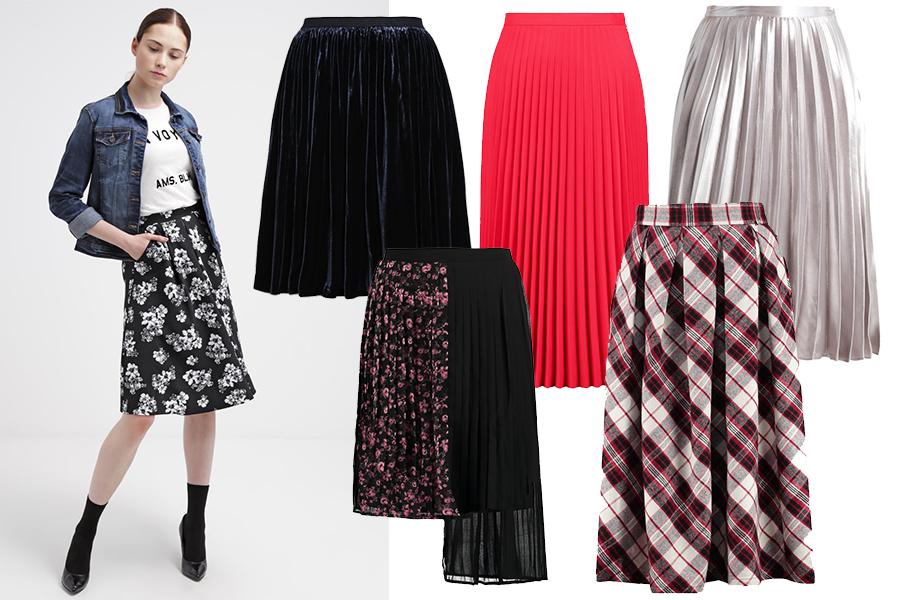 Modne spódnice plisowane
