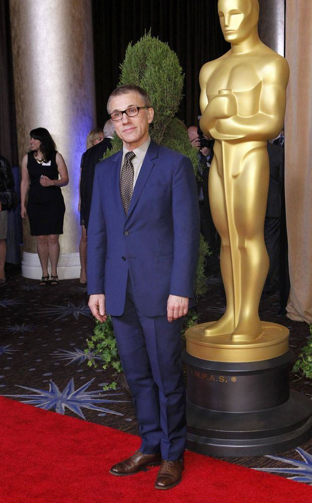 REFILE - CORRECTING IDENTITY    Actor Christoph Waltz, nominated for best performance by an Actor in a Supporting Role for