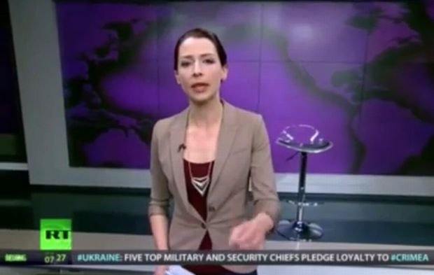 Russia Today, Abby Martin