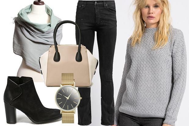 Swetry damskie: stylizacja  1