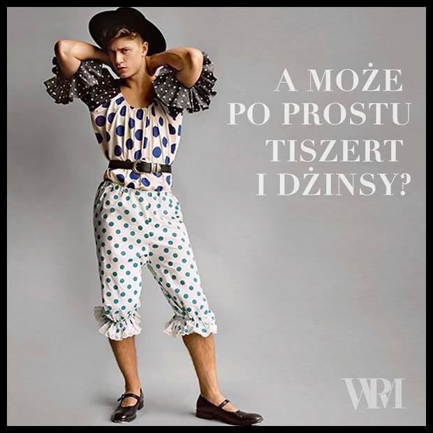 fanpage Wymowna Poza Modelki