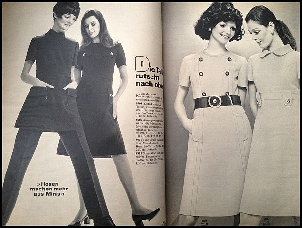 Burda Moden - sierpień 1970