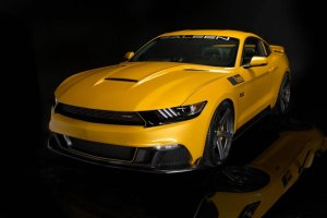 Saleen S302 Black Label | 740 KM w Mustangu