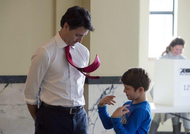 Justin Trudeau; Xavier Trudeau