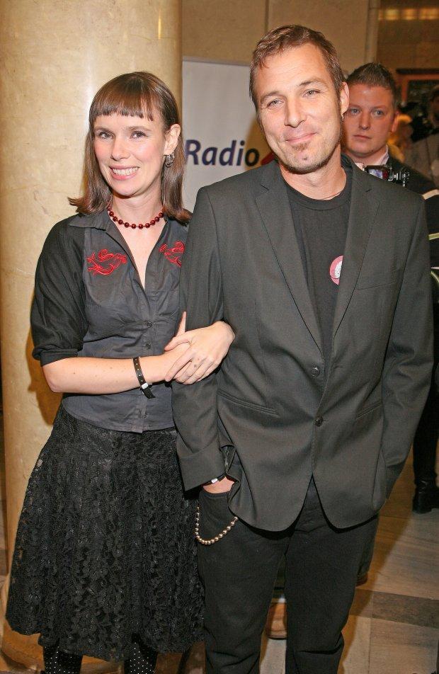 Xawery Żuławski i Maria Strzelecka